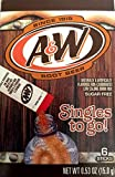 A&W Root Beer Sugar Free Singles To go Drink Mix