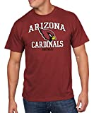 NFL Arizona Cardinals Men's Greatness Program Short Sleeve Basic Tee, Medium, Bright Garnet