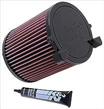 K&N E-2014 Filtro de Aire Coche, Lavable y Reutilizable