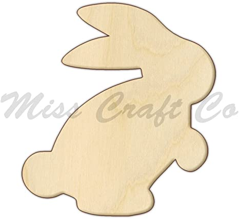 Wooden Chicken Shapes x 30