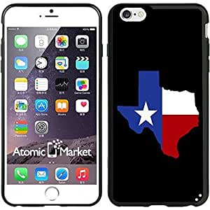 IP6+ Texas Flag State Shape For Iphone 6 Plus 5.5 Inch Case Cover