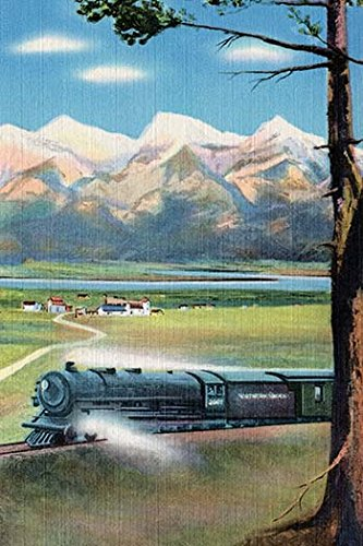 (Buyenlarge 0-587-27600-2-P1218 The Northern Pacific Scenic Route Paper Poster, 12