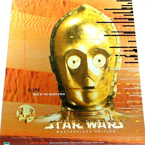 C-3PO : Tales of the Golden Droid 12 Action Figure with Star Wars Masterpiece Edition Hardcover Book