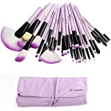 Vander 32pc Purple Professional MakeUp Brushes Set Foundation Face Cosmetic Tool