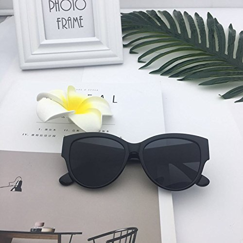 Gafas Sol De Mujer Gafas UV De Sol para Xue Black Black zhenghao wq4FafqX