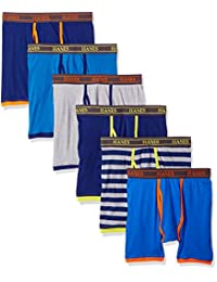 Hanes Men's 6 Pack Boxer Brief