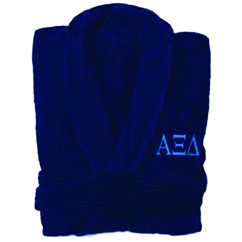 Cheap Express Design Group Alpha Xi Delta Greek Letter Bathrobe