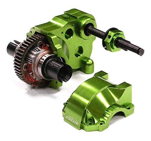 Integy RC Model Hop-ups BAJ176GREEN Type IV Complete Gear Box w/ Heavy-Duty Diff & Gears for HPI Baja 5B, 5T & 5SC Transmission Diff Gear