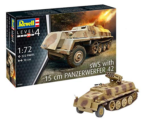Revell 03264, SWS with 15 cm Panzerwerfer 42, 1: 72 Scale Plastic Model