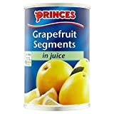 Princes Grapefruit Segments in Juice (411g) - Pack of 2