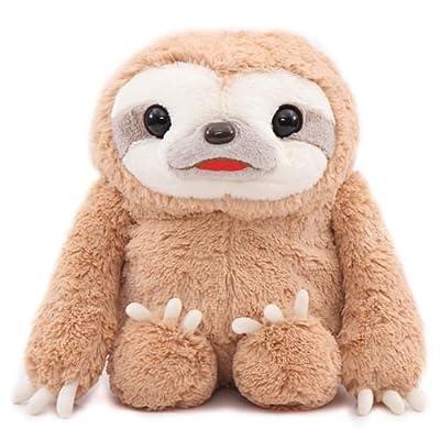 Big Brown Sloth Namakemono No Mikke Plush Toy Japan - Amuse