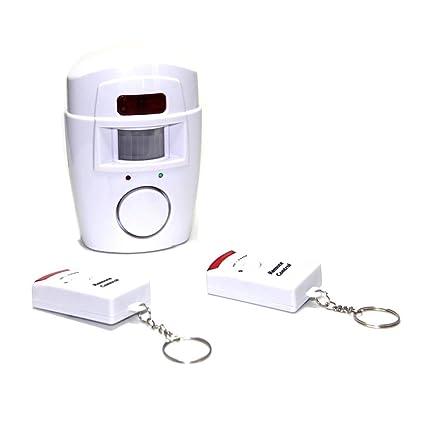 FISHTEC ® Alarma sin Contacto - 2 Mandos - 105 db ...