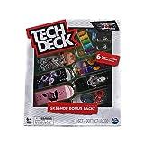 Tech-Deck Sk8shop Bonus Pack 6 Pack 96mm Fingerboards (Primitive 2)