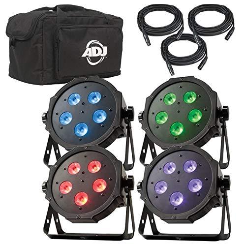 NEW! AMERICAN DJ Mega Flat TRI Pak Plus RGB + UV LED Mega Tripar Profile System (American Dj Mega Tripar Profile Plus Manual)