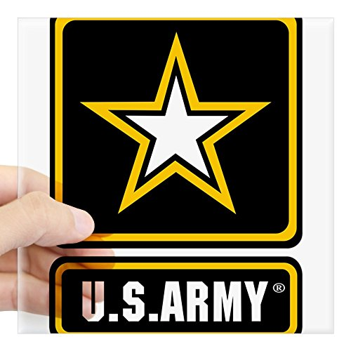 CafePress - U.S. ARMY?? Sticker - Square Bumper Sticker Car Decal, 3