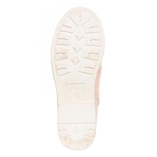 Botines de Niña XTI 52371 ANTELINA NUDE Talla 32: Amazon.es: Zapatos y complementos