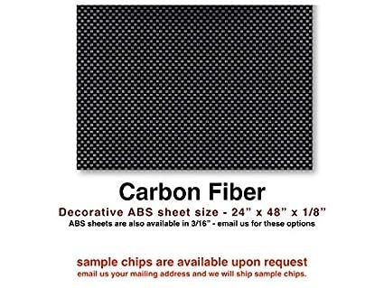 Amazon com: Carbon Fiber ABS sheet for boat instrument