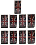 Gicos 57668 Radiators Humidifier, Ceramic, UK Flag Design (Pack of 9)
