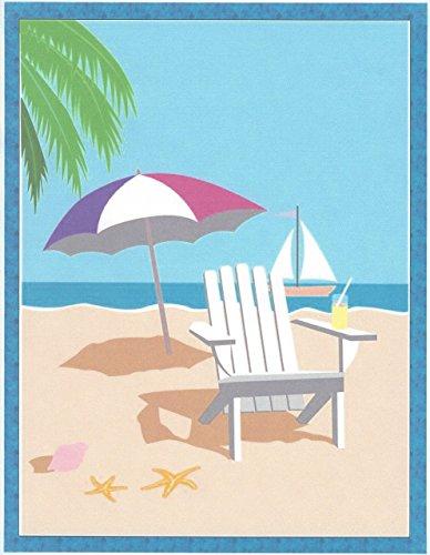 Beach Fun Stationery Printer Paper 26 (1150 Printer)