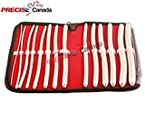 PRECISE CANADA: 14 PCS SET HEGAR UTERINE DILATOR WITH CASE