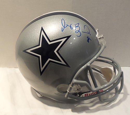 Dez Bryant Signed Dallas Cowboys Autographed Full Size Helmet