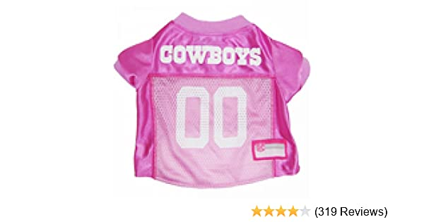 the latest 5e0f2 b75f0 Pets First NFL Pink PET Apparel. Jerseys & T-Shirts Dogs & Cats Available  in 32 NFL Teams & 4 Sizes. Licensed, Cute pet Clothing All NFL Fans