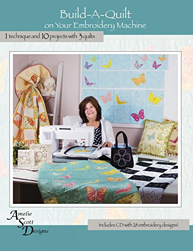 Build A Quilt Embroidery Machine Design Patterns CD 10 Proje