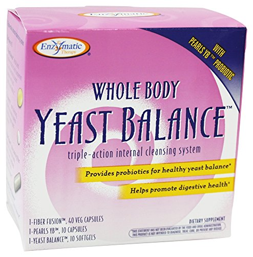 Enzymatic Therapy - Whole Body Yeast Balance Kit Triple-Action Internal Cleansing System -