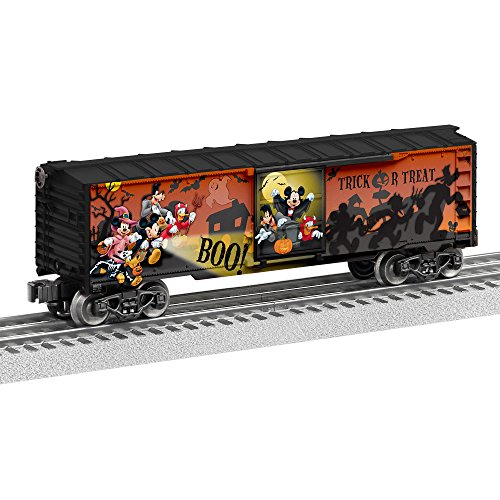 Lionel Disney Happy Halloween Boxcar Train]()