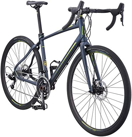 Schwinn Vantage Rx 1 700C Gravel Adventure Bike with Disc Brakes, 48cm Medium Frame, Slate Grey