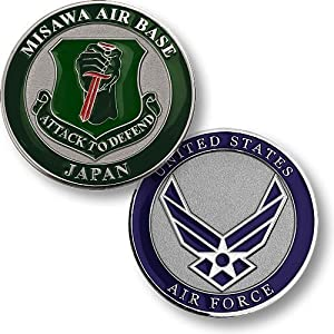 Misawa Air Base Challenge Coin