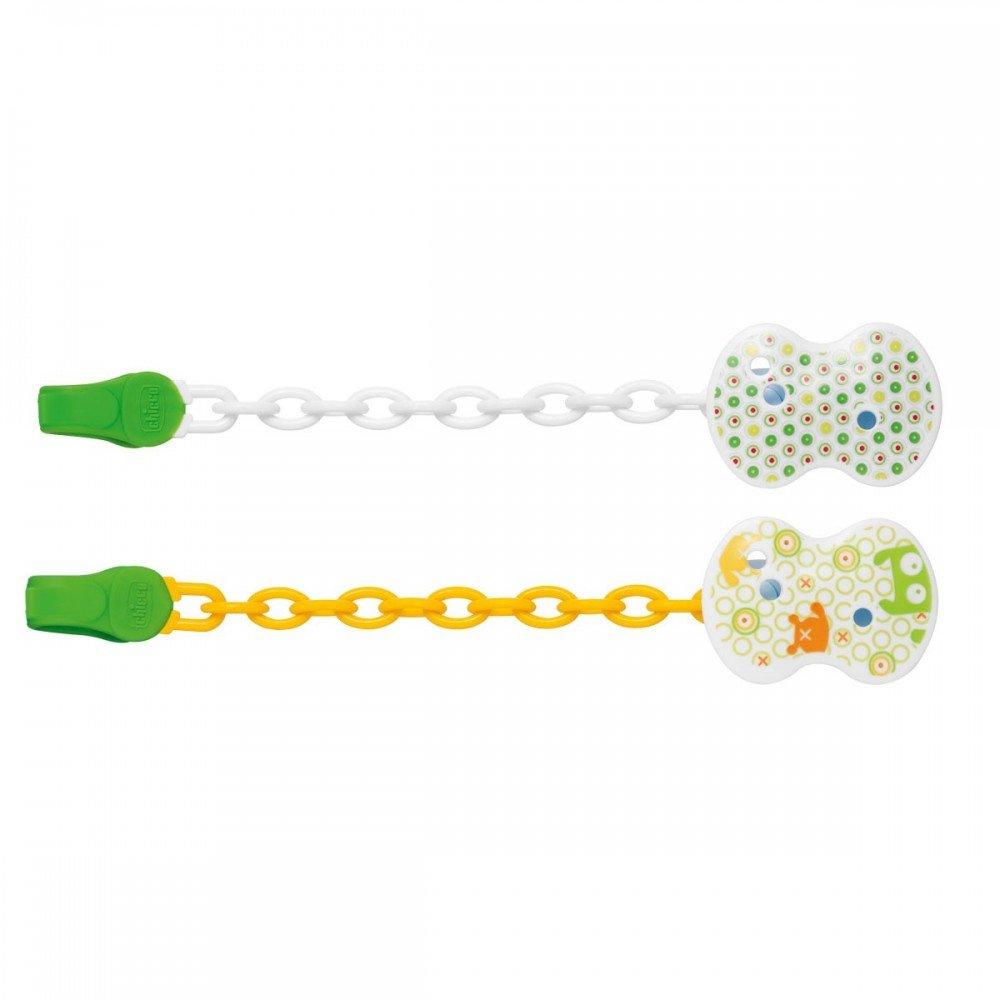 chicco - clip con catenella verde 04084.10 Chicco (Artsana Spa)