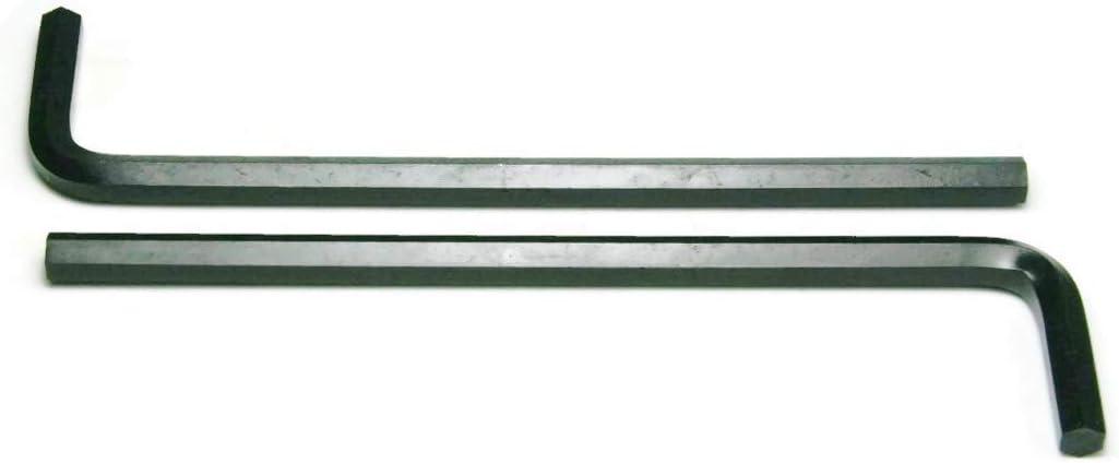 Qty 25 Long Arm Black Hex Allen Key Wrench 9//64 Inch