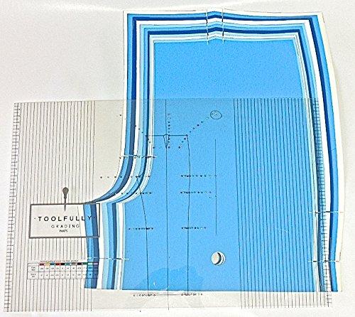 Pattern-Making Pants Grading Ruler