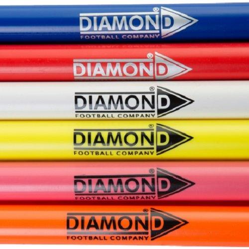 5 x Diamond Football Boundary Slalom Poles 1.7m Diamond Football Company