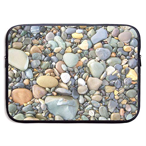 Miniisoul Portable Waterproof Laptop Linner Bags - Pebble Stone Pattern Art 13/15 Inch Computer Briefcase Sleeve Bags Notebook Case - Pebble Sooners Oklahoma