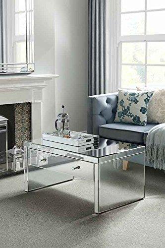 My-Furniture Serie CHELSEA tavolino da caffè a specchio con ...