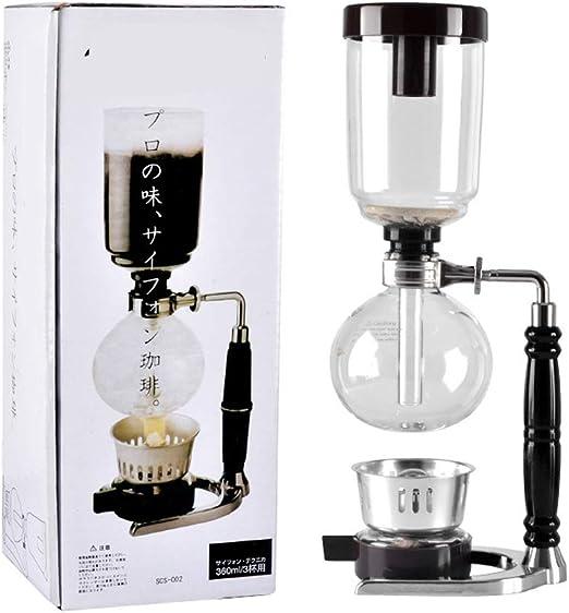 Hereb - Kit de filtro de café con sifón de mano resistente al ...