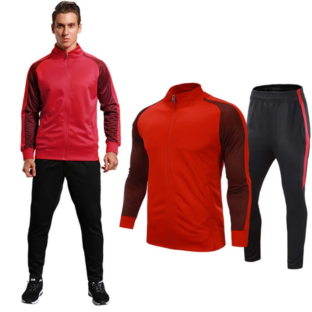 Lilongjiao Herren Outdoor Freizeit Sportbekleidung Sportbekleidung Anzug Hoodie Hosen Sweatshirts Joggen Sportbekleidung Laufbekleidung Fitness Kleidung zweiteilig