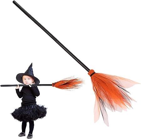 ★ La escoba es el accesorio definitivo para hacer una apariencia convincente como bruja. Las brujas