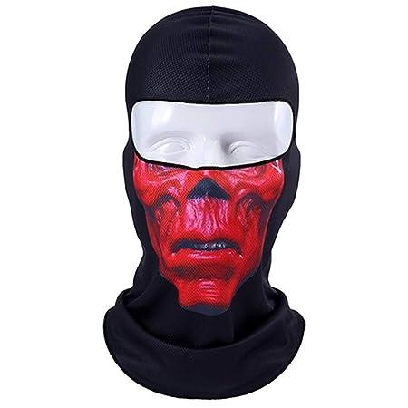 Orcos 3D Cráneo Motocicleta Pasamontañas Máscara Facial Completa ...