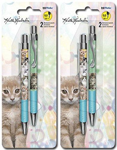 Kittens Mechanical Pencils InkWorks Keith Kimberlin Line – Cat Lovers, 4 Pencils 51B35nkRXFL