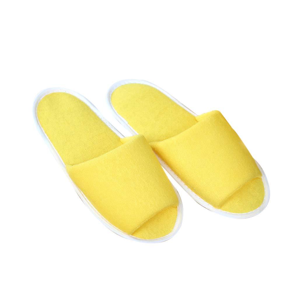 iodvfs Pantofole pieghevoli riutilizzabili di viaggio unisex portatile delle pantofole per l'hotel domestico