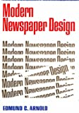 Modern Newspaper Design, Edmund C. Arnold, 0060302410