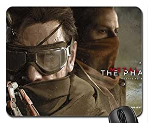 Metal Gear Solid Phantom Pain Snake And Ocelot Mouse Pad, Mousepad (10.2 x 8.3 x 0.12 inches)