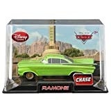 Disney / Pixar CARS 2 Movie Exclusive 1:48 Die Cast Car In Plastic Case Green Ramone [CHASE Edition!]