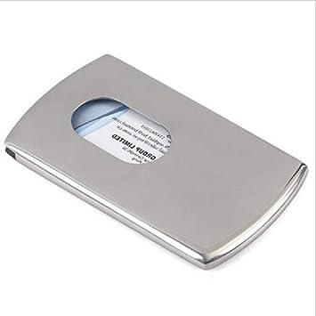 Deawecall Metallic Glanz Hochwertig Visitenkarten Etui
