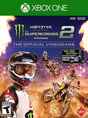 Monster Energy Supercross  The Official Videogame 2 Day One Edition