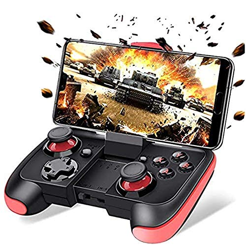 P Tu Turbo Android Controller Bluetooth Gamepad Joystick Gaming,Wireless Gamepad 2.4G, Android Phone/Tablet/TV Box/VR Devices/Emulator