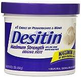 Desitin Maximum Strength Original Paste, 16 Ounce (Pack of 2)